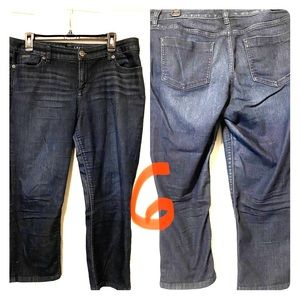 The Limited crop jeans
